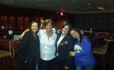 Lisa, Angie, Jen, Red